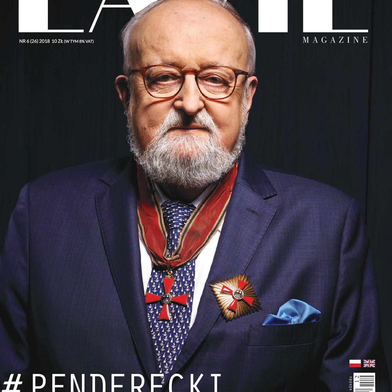 Fotografia portretowa Krzysztof Penderecki portrety Zagórny studio Warszawa Fotografia portretowa Grażyna Szapołowska portrety Zagórny studio Warszawa La Vie Magazine