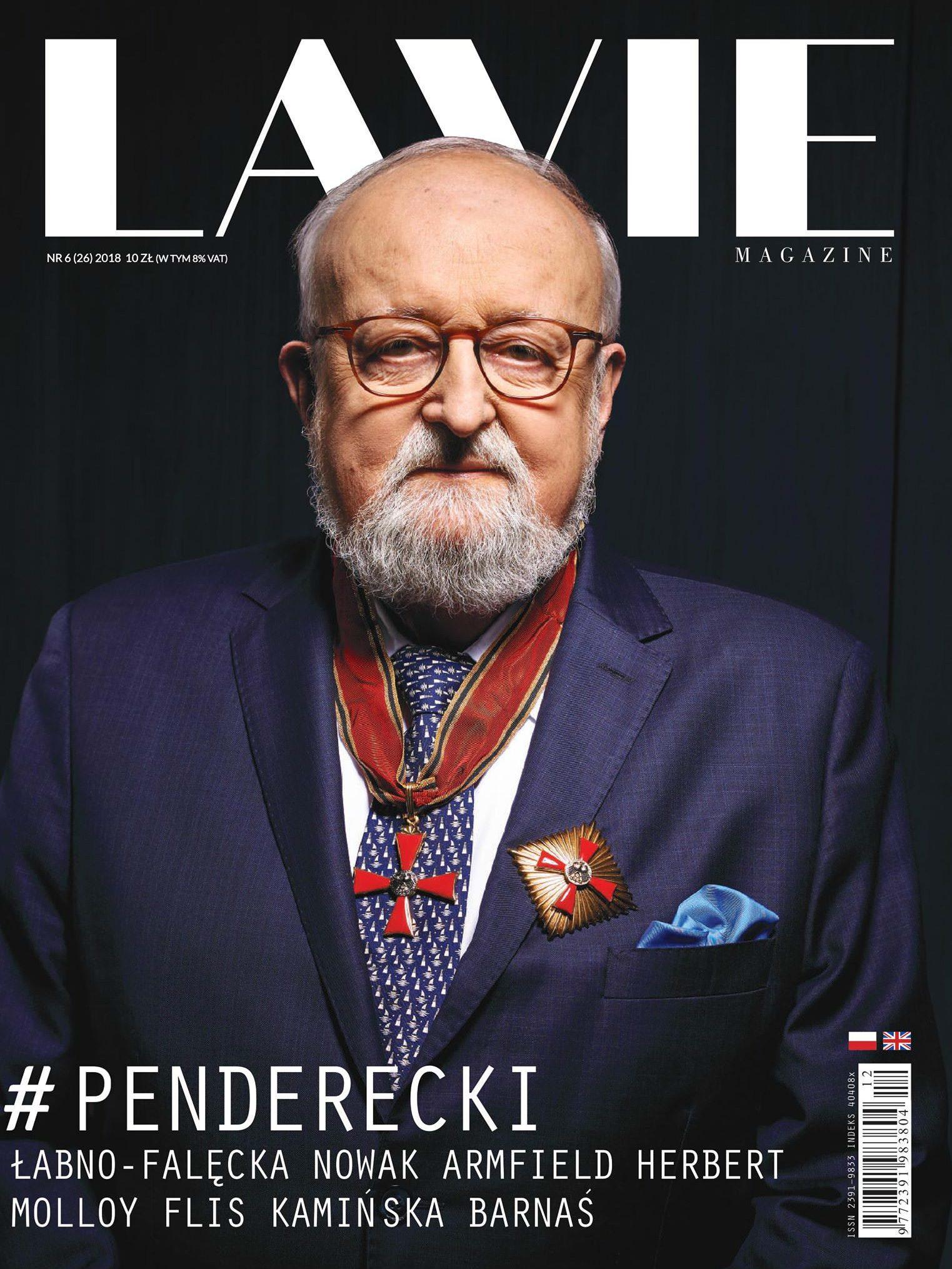 Krzysztof Penderecki portrety Zagórny studio Warszawa